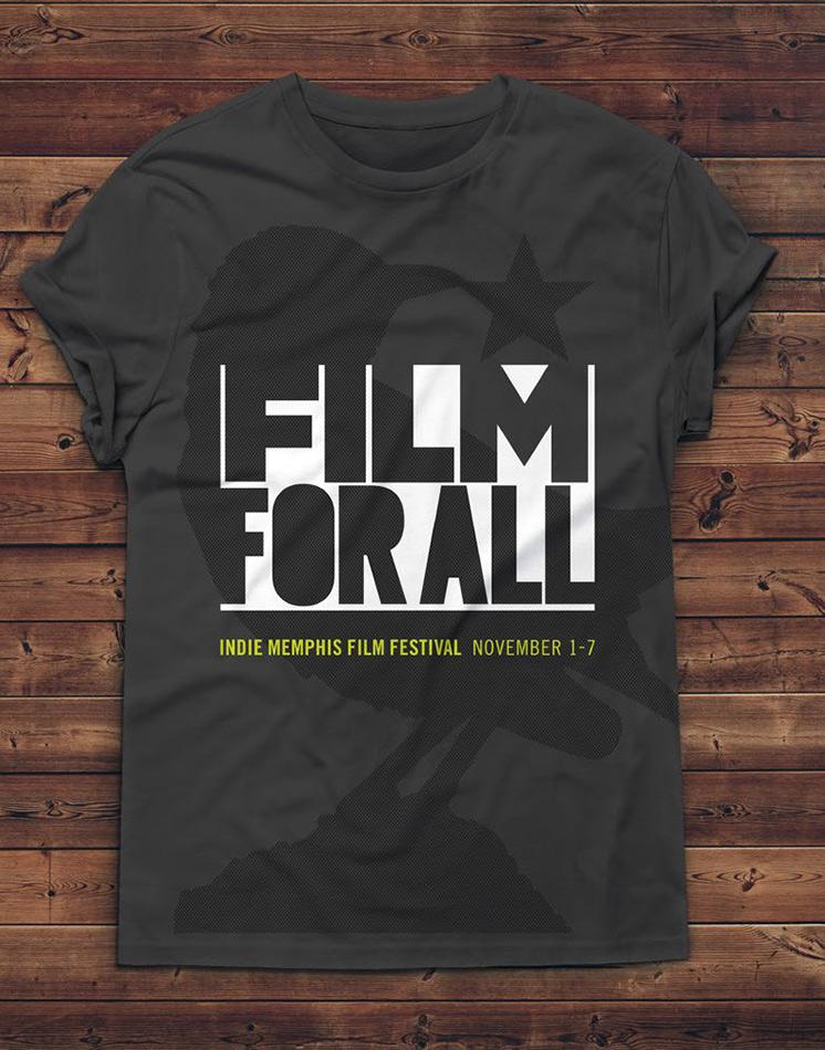 The Indie Memphis Film Festival, 2017 Tee Shirt