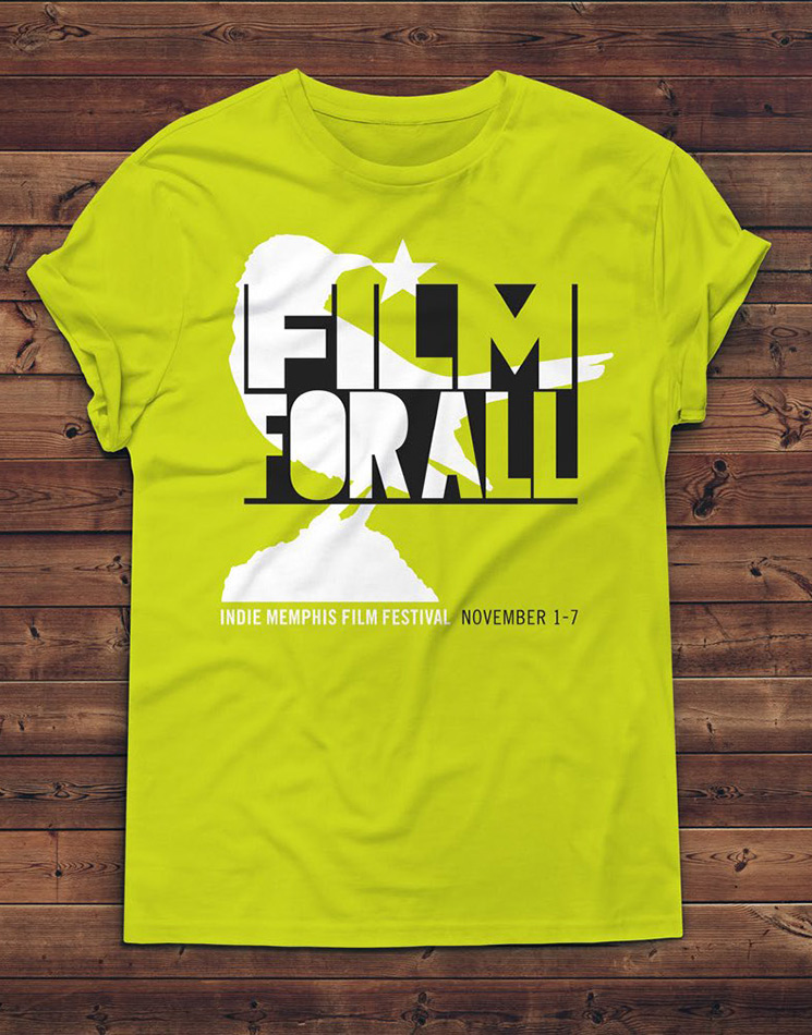 The Indie Memphis Film Festival, 2017 Tee Shirt